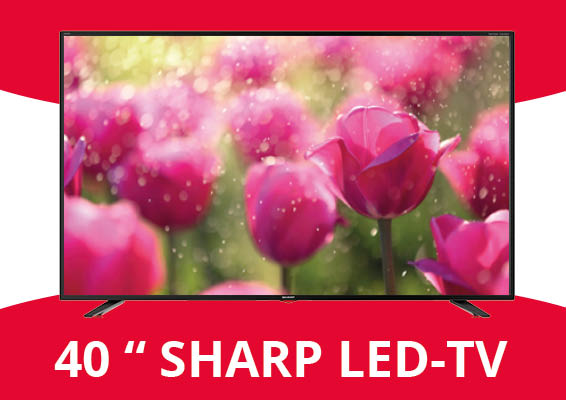 LED flatscreen TV van SHARP